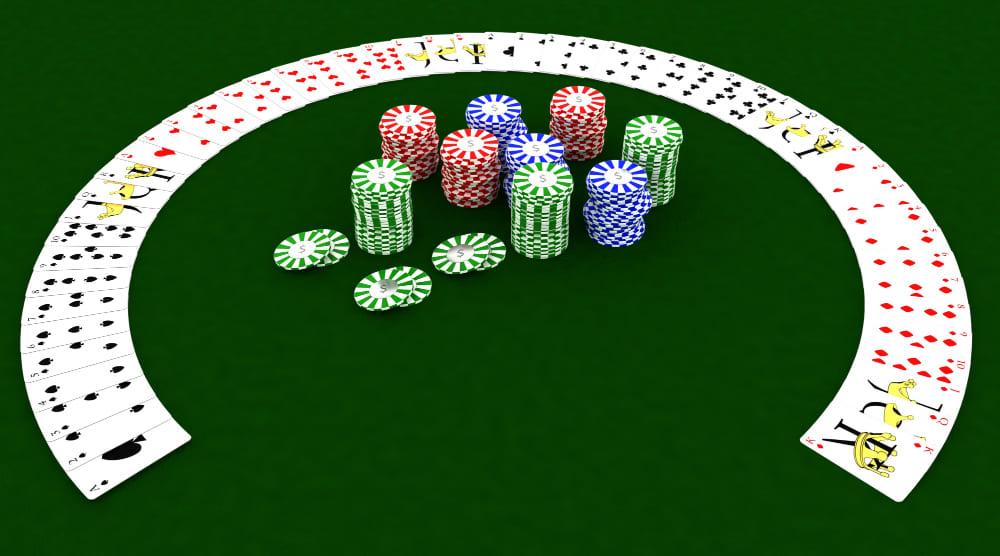 un rendu 3d de casino en ligne